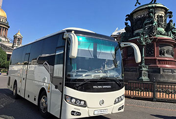 Заказать автобус Golden Dragon XML6957JR