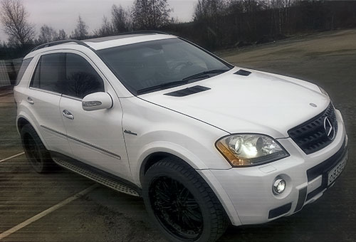 Заказать автомобиль Mercedes-Benz ML 350